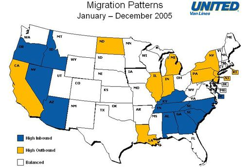 Fleeing California?  You're Not Alone