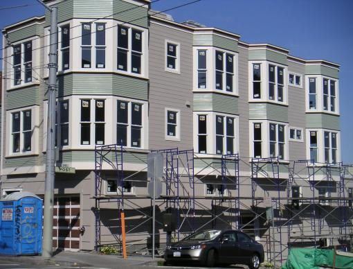 Permaconstruction At Post And Masonic Presidio