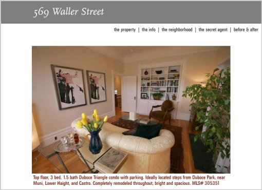 The Secret Agent And Website Of 569 Waller