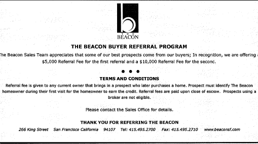 New Sales Force At The Beacon: Your Neighbors