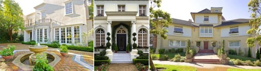 Three Homes in Presidio Terrace