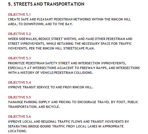 Rincon Hill Streets And Transportation Plan