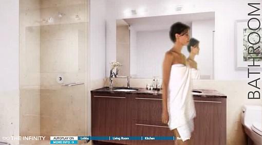 An Infinity Bathroom (Image Source: the-infinity.com)