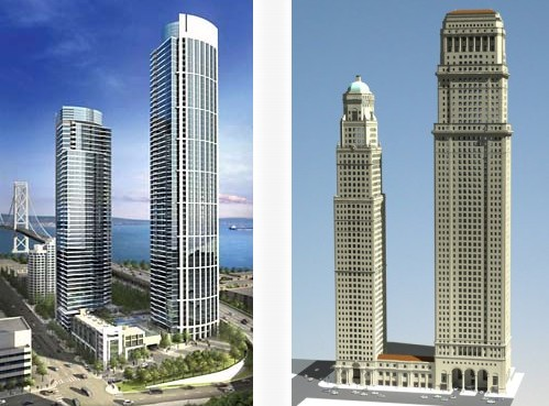One Rincon Hill versus LA's Olympic Tower