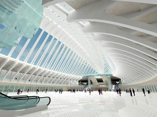 Calavatra's Proposed NYC Transportation Hub and Terminal