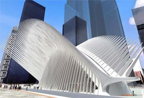 Calavatra's Proposed NYC Transportation Hub and Terminal
