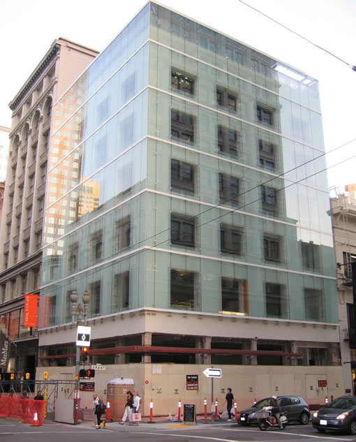 The Modern Makeover And Façade Of 185 Post