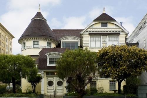 The Atherton House (1990 California): Exterior