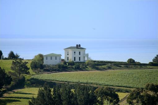 The Palmtag Muzzio Bowen Mansion (Just South Of Santa Cruz)