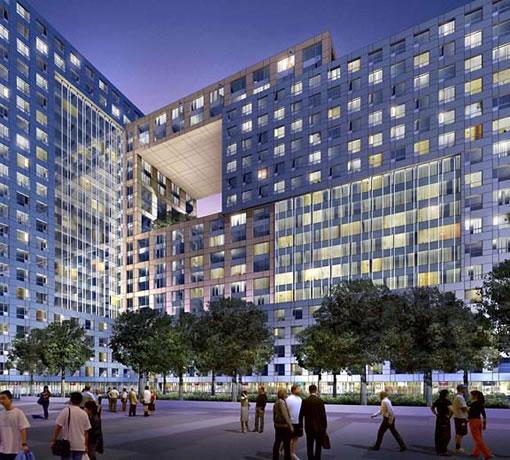 Trinity Plaza Rendering