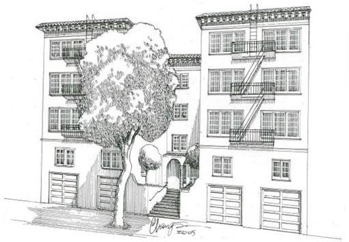 2760 Sacramento Sketch