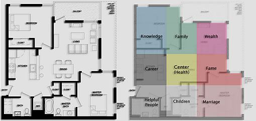 Floor Plans And Feng Shui At Sutter Heights (1521 Sutter)