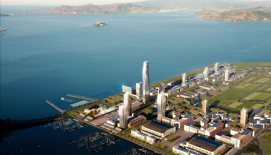 The (SOM) Master Plan For San Francisco's Treasure Island