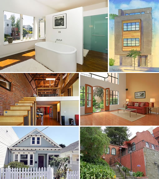 Six that sold: 785 Cole, 2420 Larkin, 720 York #226, 10 South Park #3, 73 Lobos, and 1751 Vallejo