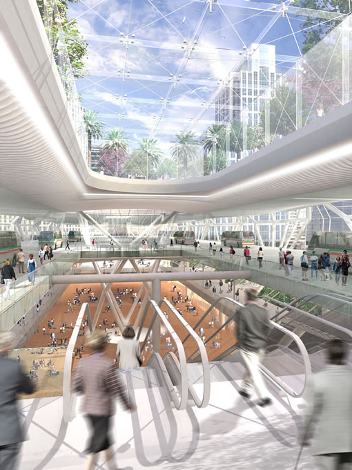 Inside The Pelli Clark Pelli Transbay Terminal Design