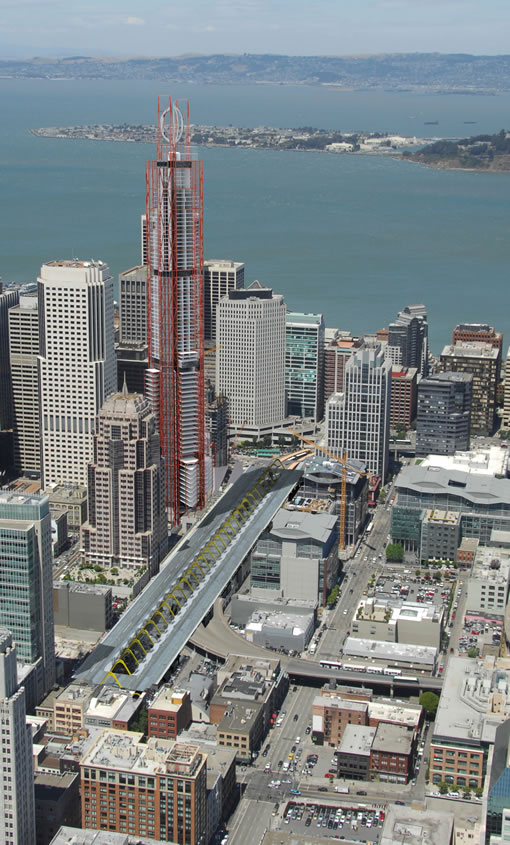 San Francisco's Transbay Terminal and Tower: Richard Rogers Preliminary Design
