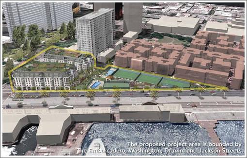 8 Washington Street Project Area