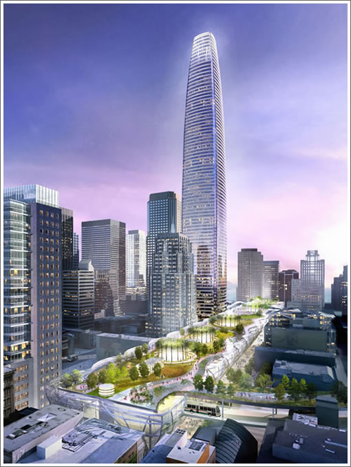 Pelli Clarke Pelli's Transbay Terminal and Tower ('City Park')