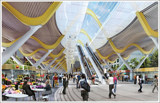 Richard Rogers Transbay Transit Center Design