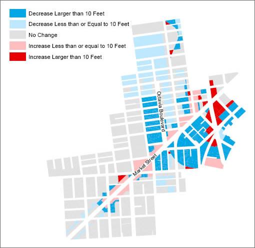 Market & Octavia Neighborhood Plan: Upzoning and Downzoning