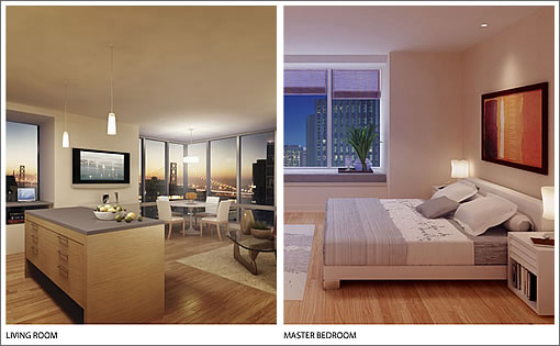 Millenniun Residences Interior Renderings