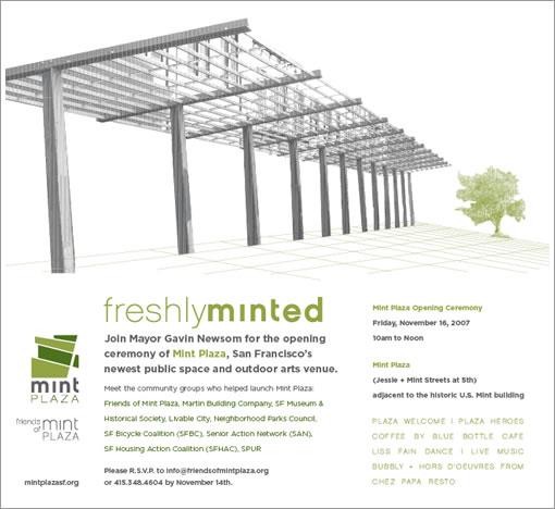 Mint Plaza Opening