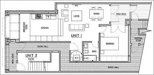 1436 Jackson: Floor Plan