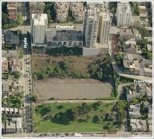 San Francisco's Francisco Street Reservoir