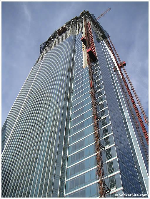 San Francisco's Millennium Tower: 2/6/08 (www.SocketSite.com)