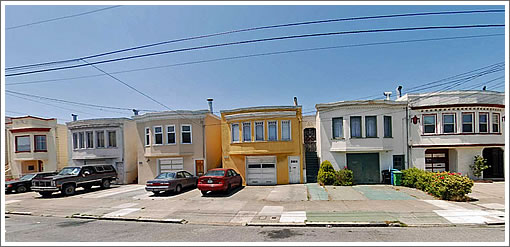 Paved Over For Parking (Image Source: MapJack.com)