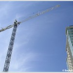 San Francisco's Newest Tower Crane (For Trinity Plaza) Is In The Air