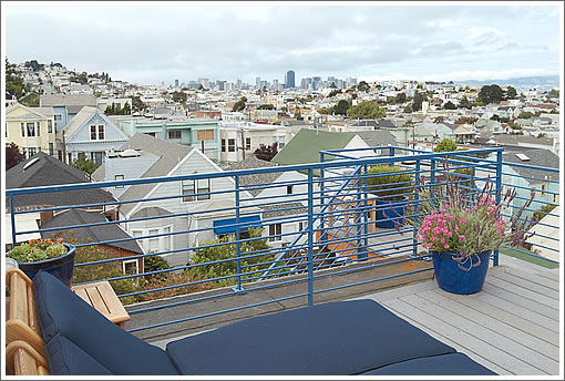 334 28th Street: Rooftop View