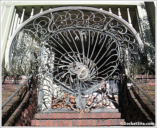 731 Buena Vista Avenue: Gate (www.SocketSite.com)