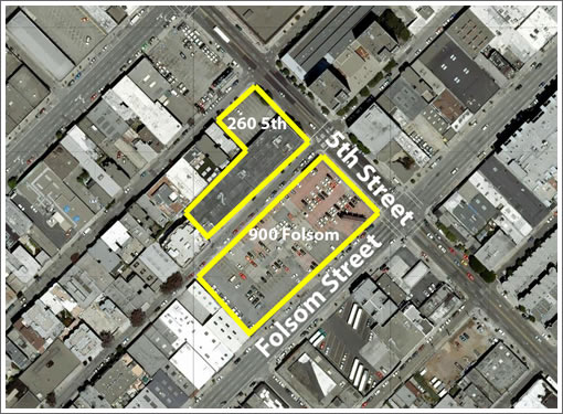 900 Folsom/260 Fifth: Project Site