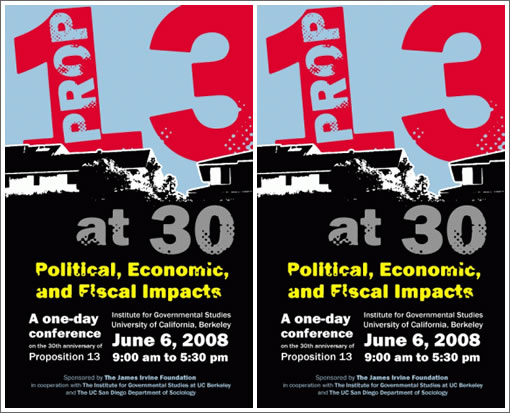 It Was Twenty Thirty Years Ago Today, Prop 13 Came Into Play…