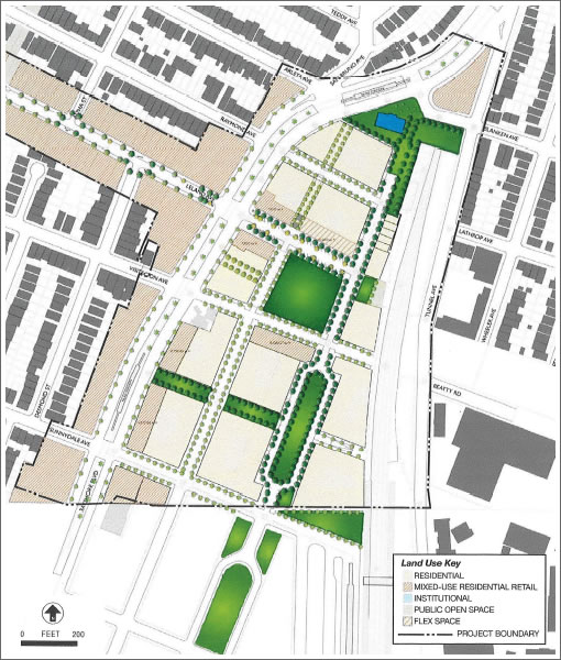 Visitacion Valley Redevelopment: Urban Concept Plan