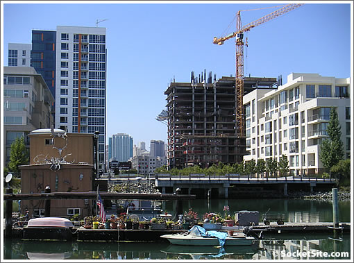 Avalon At Mission Bay Phase III (240 Berry) Rises Up Aside Arterra