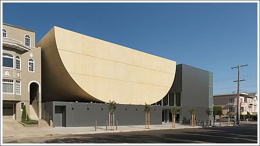 San Francisco's Congregation Beth Sholom Synagogue (Image Source: saitowitz.com)