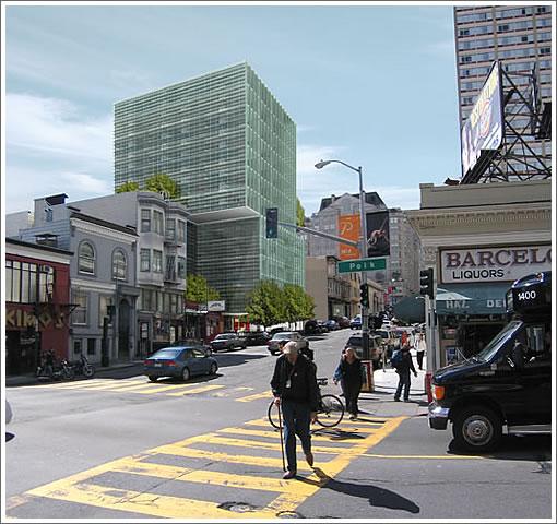 From The Stanley Saitowitz | Natoma Architects Portfolio: Pine Street