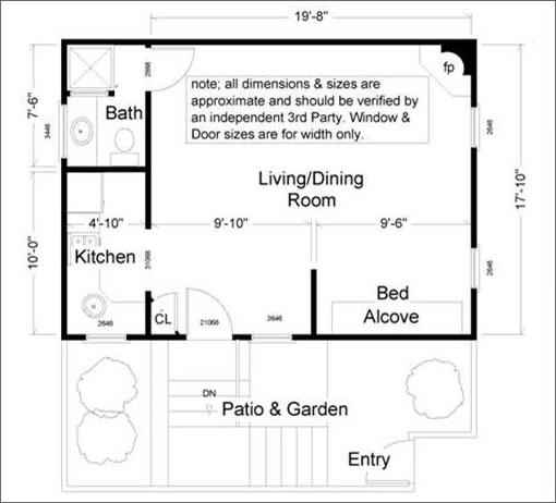 1448 Kearny: Floor Plan