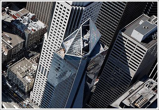 Millennium Tower Aerial: 9/26/08 (www.SocketSite.com)
