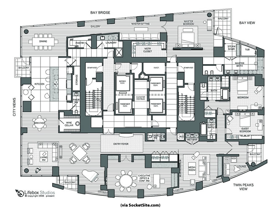 SocketSite's Unofficial Penthouse Plan Challenge: Life(box) At The Top