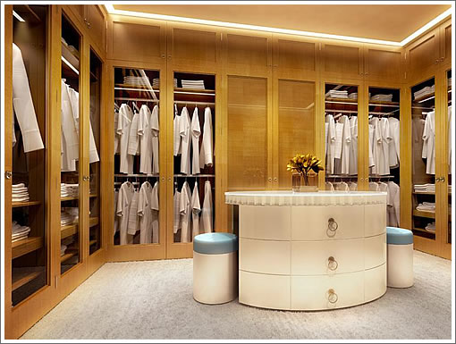 St. Regis Penthouse: Master Closet