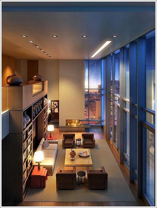 St. Regis Penthouse: Living