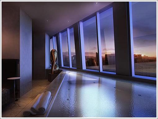 St. Regis Penthouse: Master Tub