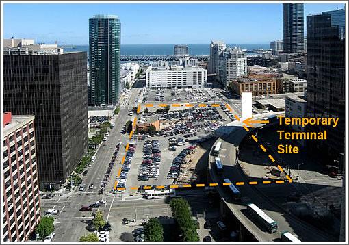 Temporary Transbay Terminal: Site