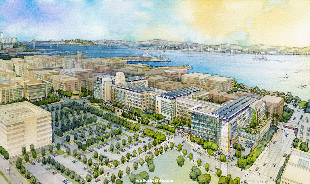 SocketSite™ | The Latest Rendering For UCSF's Medical Center at