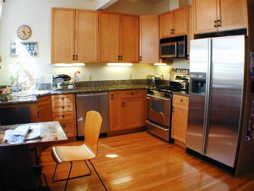 643 Greenwich: Kitchen circa 2001