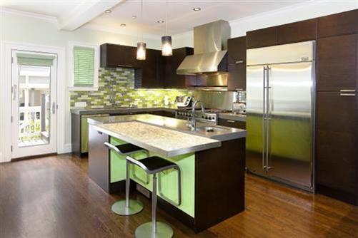 643 Greenwich: Kitchen 2009