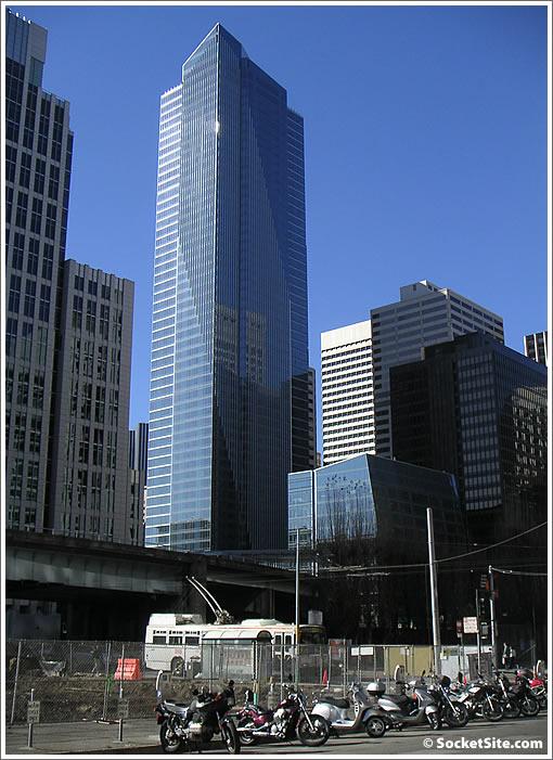 San Francisco's Millennium Tower (www.SocketSite.com)